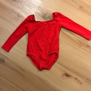 Other - Toddler girl Red Leotard size 3
